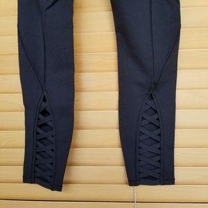 lululemon athletica Pants - Lululemon Pure Practice black cutout leggings